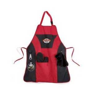 Grill Master Apron Kit - Red